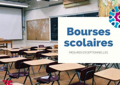 BOURSES SCOLAIRES : DES MESURES EXCEPTIONNELLES POUR LE 3E TRIMESTRE ET L'ANNÉE 2020/2021