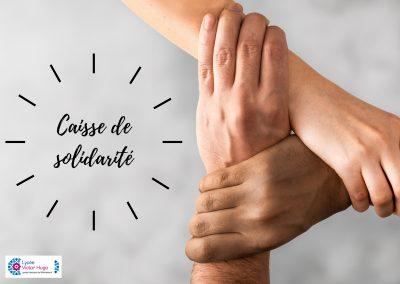 CAISSE DE SOLIDARITE : MODE D'EMPLOI POUR UNE DEMANDE D'AIDE